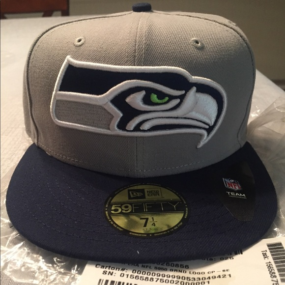 d3007eab57c Seattle Seahawks New Era Fitted Cap Hat 59fifty